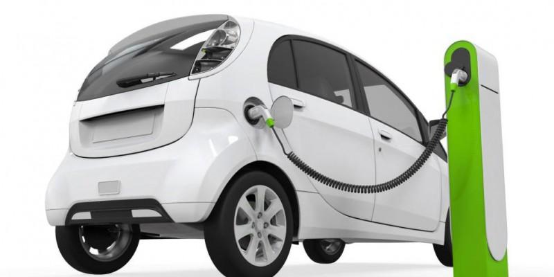 Opladen elektrische auto oplaadpaal