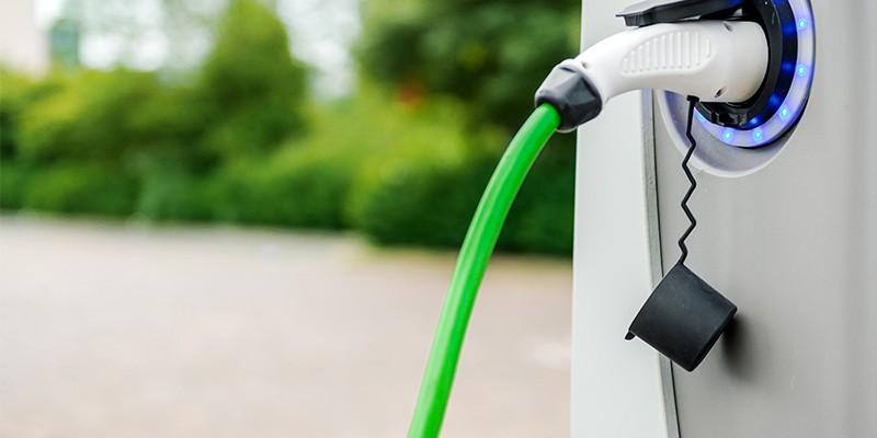 Elektrische Auto Handig Opladen Met Laadpaal P Hoekwater B V