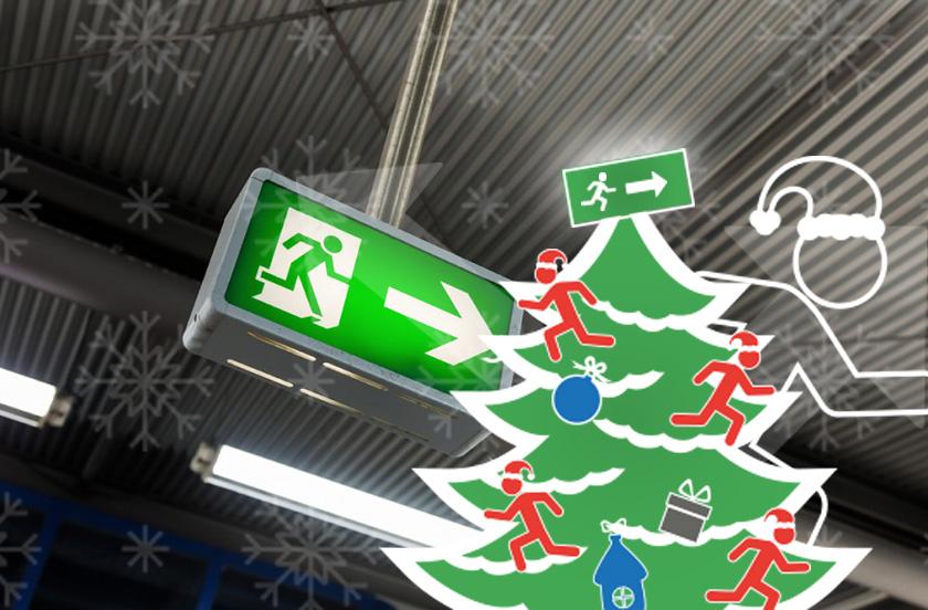 Kerstverlichting - Noodverlichting